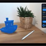 3D-Modell mit der ThingstAR-App betrachten
