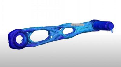 Entwurf der Kurbel in Autodesk