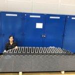 Großes Objekt aus 3D-Drucker