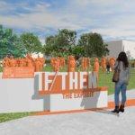 3D-gedruckte Statuen der If/Then-Ausstellung