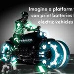Werbebild 3D-Druck von Feststoffbatterien