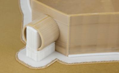 3D-Druck mit Stützstrukturen