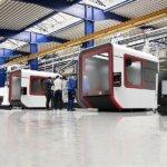 3D-Drucker in einer Fabrik