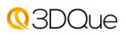3DQue Logo