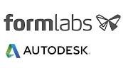 Formlabs und Autodesk Logos