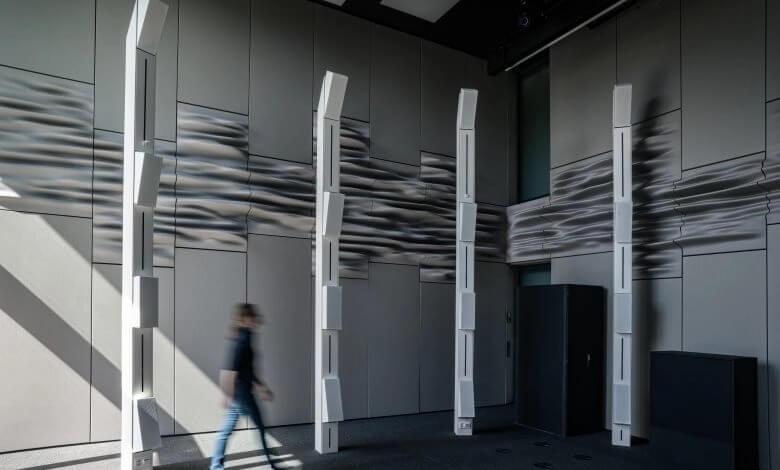 3D-gedruckte Akustikdiffusionsplatte