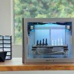 3D-Drucker J1 und Druckobjekt