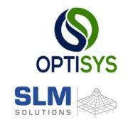 Optisys und SLM Solutions Logos