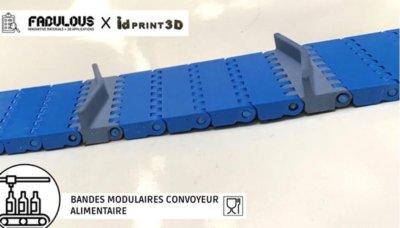 3D-gedrucktes Lebensmittelförderband