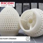 3D-gedrucktes Wasserpumpensieb aus ACTIVE