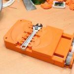 3D-Druck Schraubstock komplett