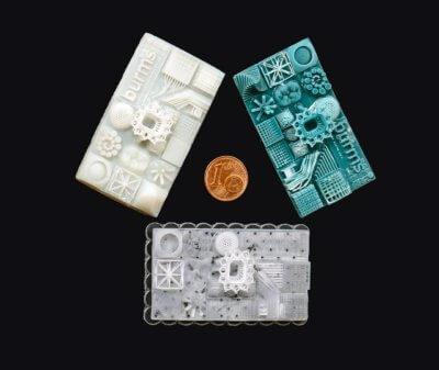3D-gedruckte Geometrien