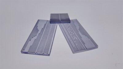 Mikrofluidik-Tests