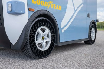 Local Motors Olli-Bus mit Goodyear-Reifen