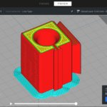 Screenshot Software Stratos von BCN3D