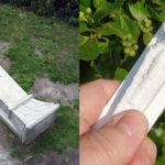 Original aus dem Skulpturengarten und 3D-gedruckte Kopie