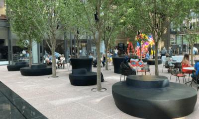 3D-gedruckte Bänke im IDS Center