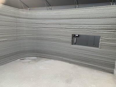 Ansicht innen 3D-Druck-Haus-Schweden