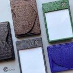 3D-gedruckte Mini-Wallets mit Details