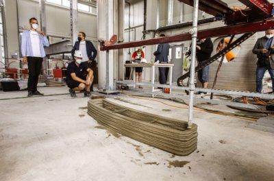 3D-Druck für Parkour-Spielplatz an TU Brünn