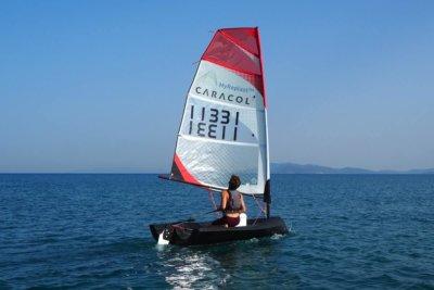 "3D-gedrucktes Segelboot ""Beluga"""