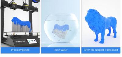 Wasserlösliches Stützmaterial