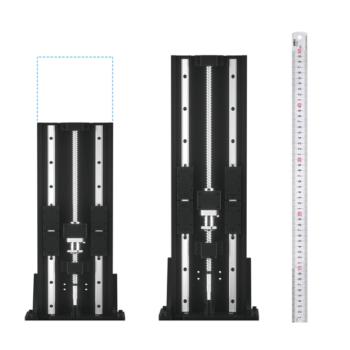 Unterschiedliche Z-Achsen des 3D-Druckers ELEGOO Jupiter