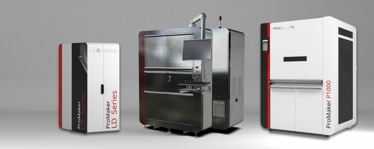 drei 3D-Drucker