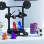 3D-Drucker Tronxy GEMINI S mit 3D-Druck-Objekten