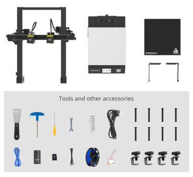 3D-Drucker GEMINI S Tools und Einzelteile