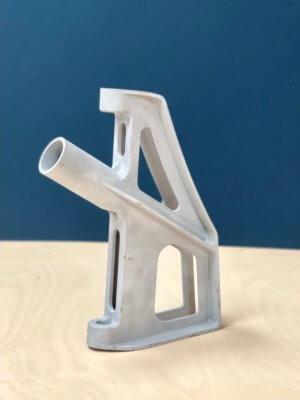 3D-gedruckte Aufhängung aus AIMgty