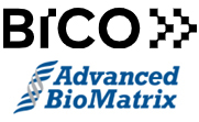 BICO und Advanced BioMatrix Logos