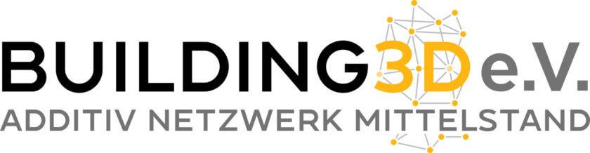 Building 3D e.V. Schriftzug
