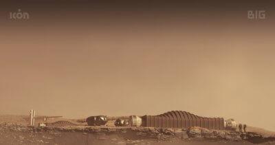 Leben auf dem Mars - Simulation