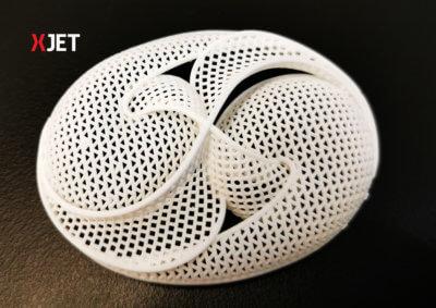 3D-gedruckte Komponente aus Aluminiumoxid