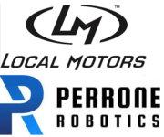 Local Motors und Perrone Robotics