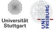 Universität Stuttgart und Universität Freiburg Logos