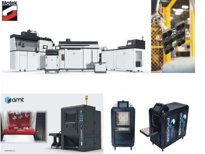 Verschiedene 3D-Druck-Systeme