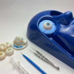 3D-Druck-Augenmodell mit Werkzeug