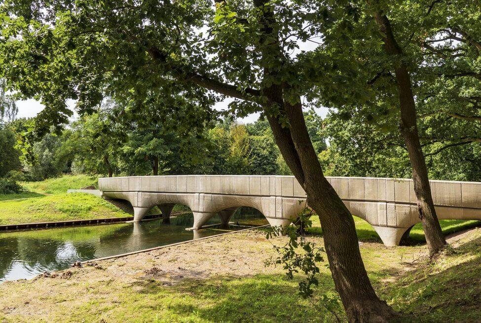 3D-gedruckte Betonbrücke in Nijmegen
