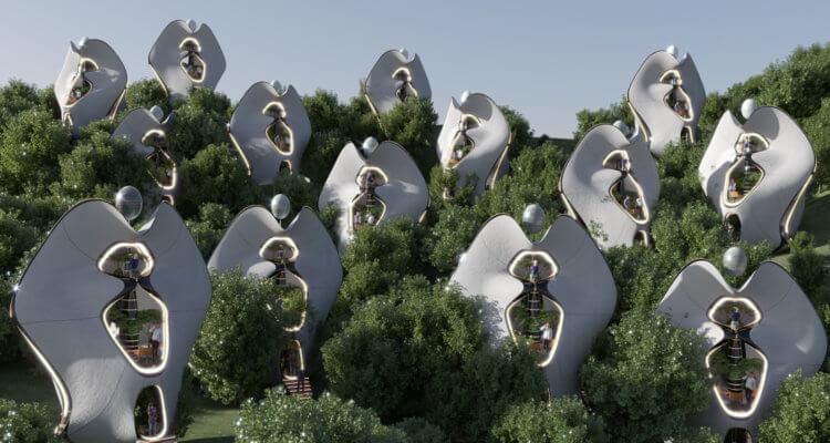 3D-Druck-Häuser aus Stahl