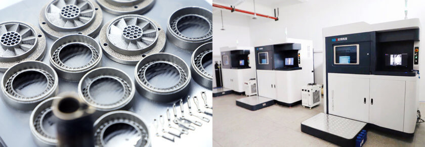 3D-Drucker HBD 280 bei Junchen 3D und Objekte aus Metall
