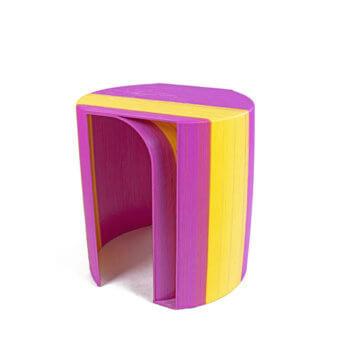 3D-Druck-Hocker Capri