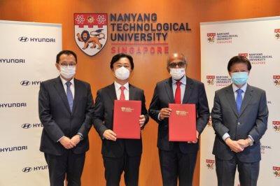 Kooperation der NTU und der Hyundai Motor Group