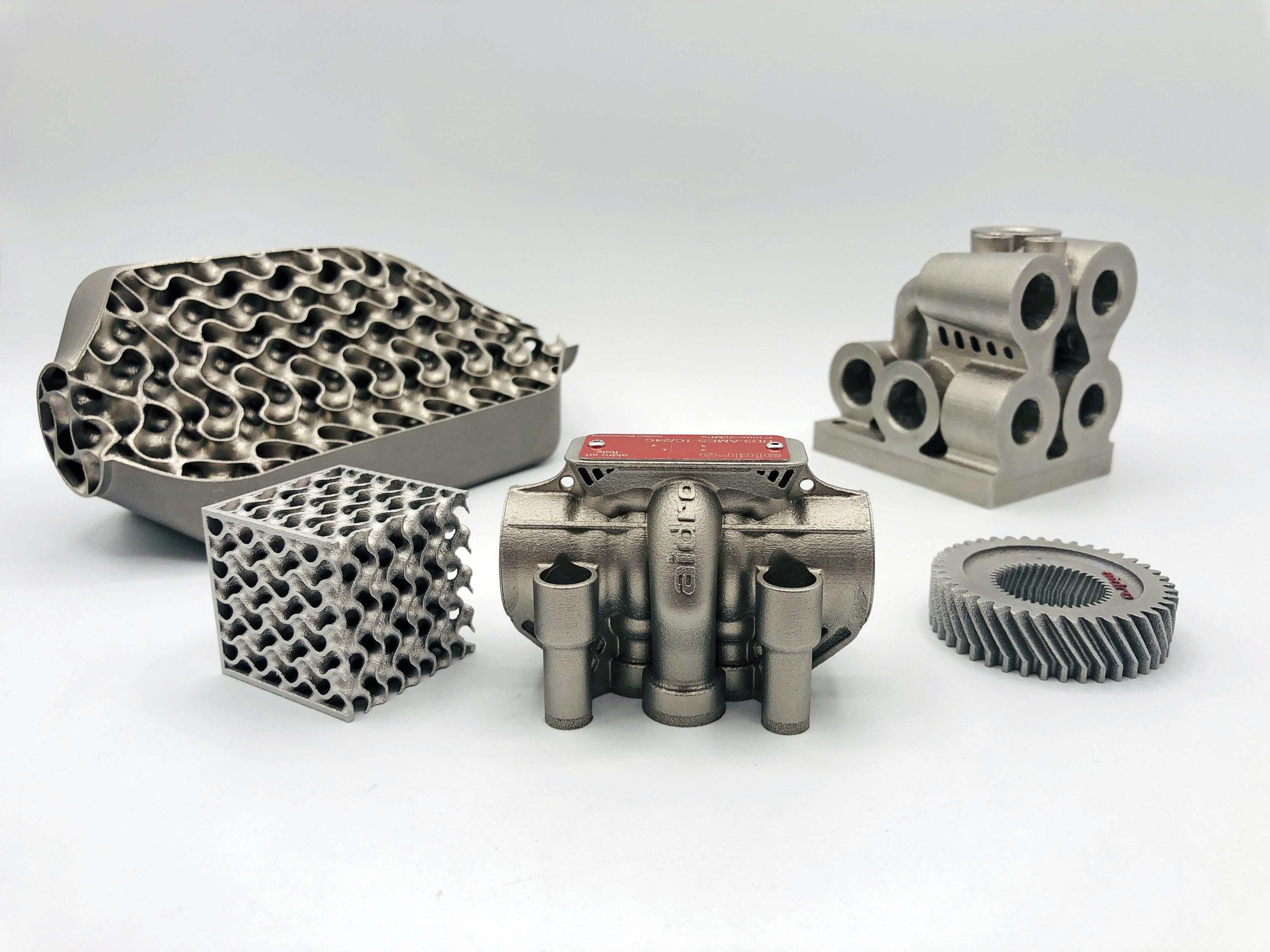 3D-Druck-Komponenten Aidro Beispiele