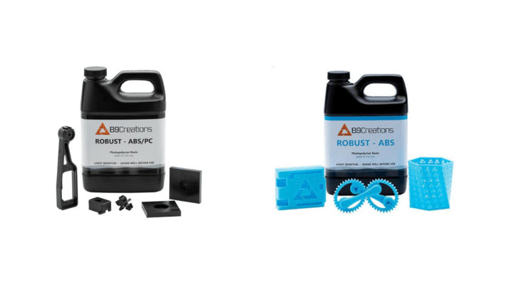 3D-Druck-Material Robust ABS und ABS/PC