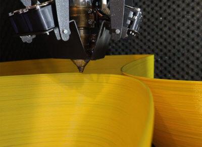3D-Druck eines Möbelstücks