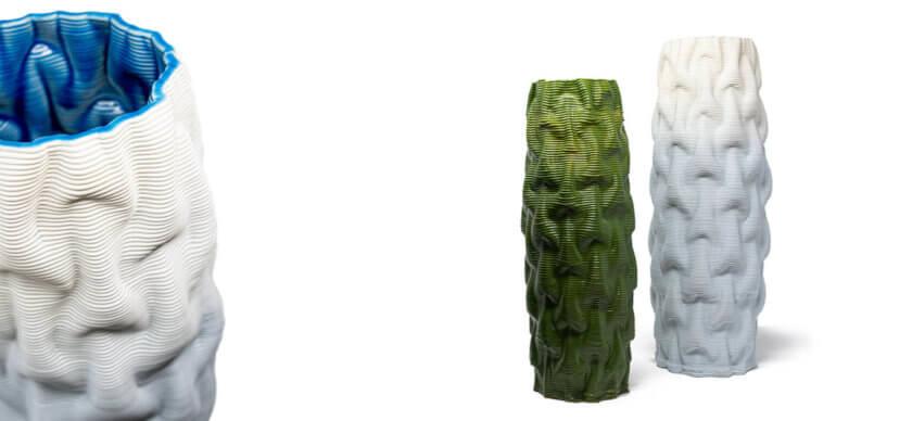 3D-Druck-Vasen Fiordo