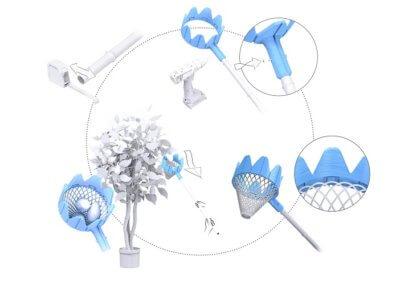 Details zur Herstellung des 3D-Druck-Obstgreifers