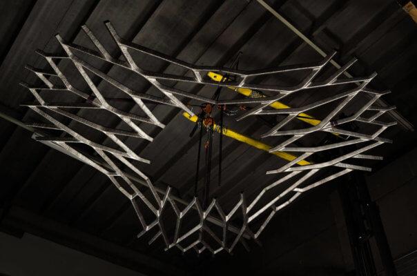 3D-Druck-Struktur von MX3D